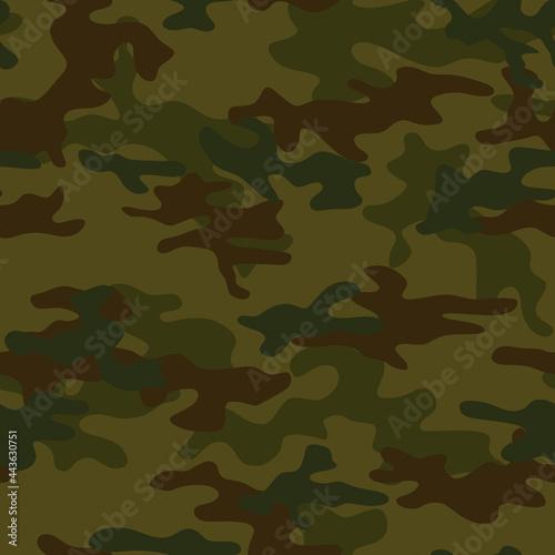 Canvastavla Seamless camouflage, hunting