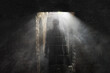 Leinwandbild Motiv Ghost in the dungeon