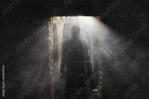 Vászonkép Ghost in the dungeon
