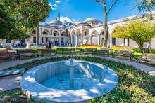 Topkapi Palace.view .Topkapi Palace Is Popular Tourist Attraction In Turkey.