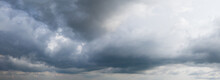 Storm Clouds Panorama. View From The Drone.
