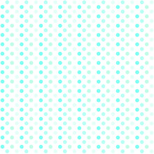 Simply Seamless Blue Vintage Polka Dots Pattern Isolated On White Background.