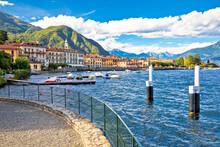 Town Of Menaggio On Como Lake Waterfront View