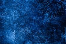 Deep Blue Texture Backdrop With Dark Shades