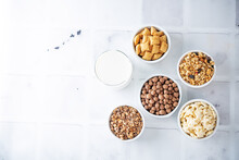 List Of Breakfast Dried Cereals With Milk