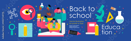 Foto back to school and education