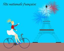 Fête Nationale Française, 14 Juillet French National Day, 14 July