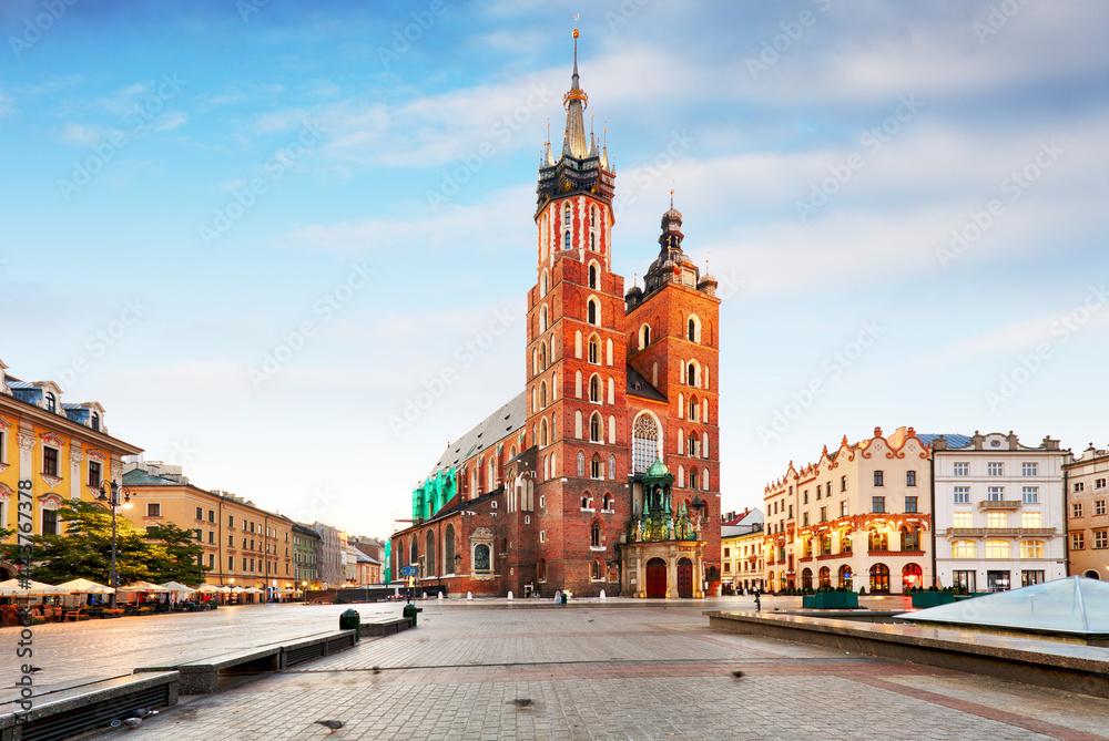 Krakow in Poland - obrazy, fototapety, plakaty