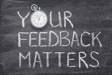 Your Feedback Matters Watch
