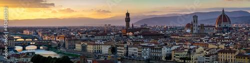 Obraz na plátně Cities of the World - Firenze, Italy