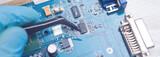 Fototapeta Kawa jest smaczna - repair of motherboards and other technicians