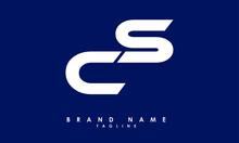 CS Alphabet Letters Initials Monogram Logo
