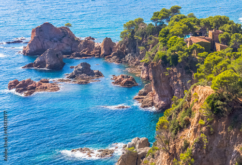 Fotografiet Costa Brava près de Tossa de Mar, Espagne