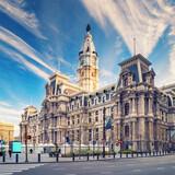 Fototapeta Kuchnia - Historic City Hall in Philadelphia, USA