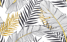 Art Wallpaper Floral White Design