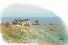 Petra Tou Romiou Beach, Cyprus