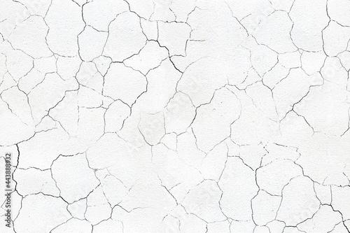 cracked concrete wall Fototapet