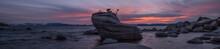 Bonsai Rock Sunset Panorama