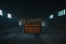 Piano In An Old Abandoned House