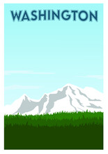 Natural Scenery In Washington State