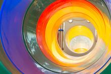 Inside A Rainbow Tunnel