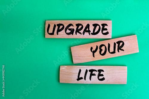 Fotografia, Obraz Upgrade Your Life, Business Concept