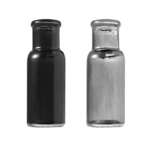 Antique Vintage Medicine Bottles On White Background