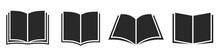 Book Icon. Book Symbol Set. Vector