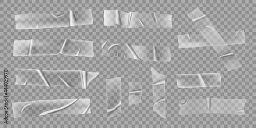 Fotografia Transparent adhesive tapes