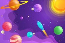 Gradient Galaxy Background_3