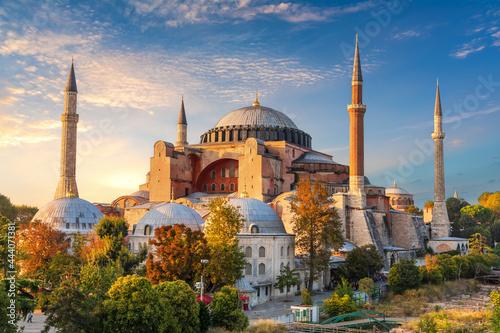Fototapeta Hagia Sophia, famous landmark of Istanbul, Turkey