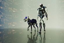 Robot Dog Series: Police Patrol
