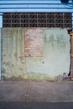 Wall With Many Different Textures