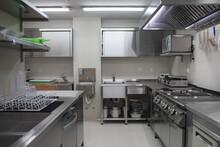 Brand New Professional Kitchen In A Restaurant