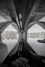 Under The Folsom  Rainbow  Bridge