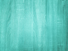 Blue Turquoise Background With Wooden Texture