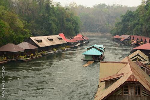 Canvas Sai Yok National Park. Kanchanabuti. Thailand