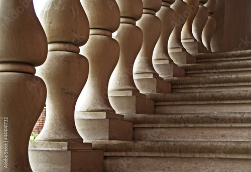 Canvastavla Low Angle View Of Staircase In Building