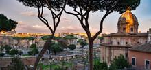 Roman Empire Ruins, Rome, Italy