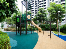 Public Playground For Children In A Residential Estate In Singapore