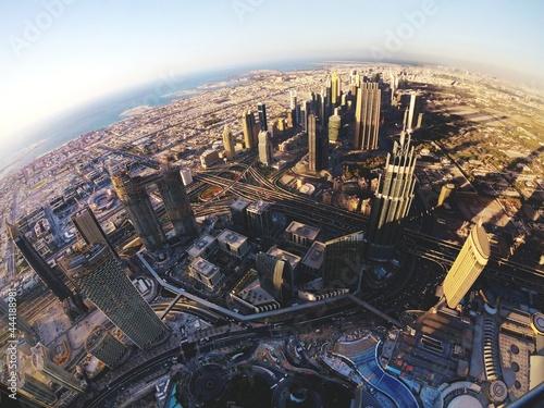 Obraz na plátně View From Burj Khalifa