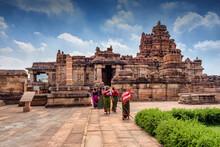 The Sangameshwar Temple At Pattadakal Temple Complex, Karnataka, India