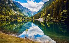 Mountain Lake Nature Landscape.