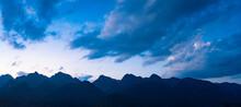 Panoramic View Of Peaks In Xiaoqikong Scenic Area, Libo County, Guizhou Province, China