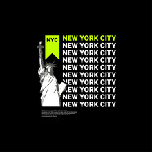 New York City Writing Design, Suitable For Screen Printing T-shirts, Clothes, Jackets And Others