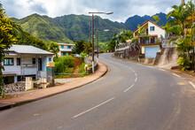 Village De L'Entre-Deux, île De La Réunion