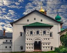Annunciation Church. Years Of Construction 1524 -1526. Boris & Gleb Monastery, Village Borisoglebsky, Russia