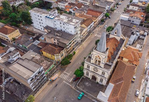 Obraz na plátně Centro da cidade de Natividade no norte do Estado do Rio de Janeiro