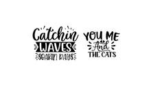 New Cat SVG Quotes Design Template