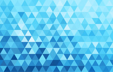 Abstract Geometry  Triangle  White And Blue Pattern Background.vector